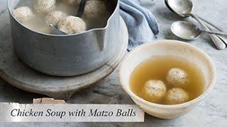 Chicken Soup And Matzo Balls