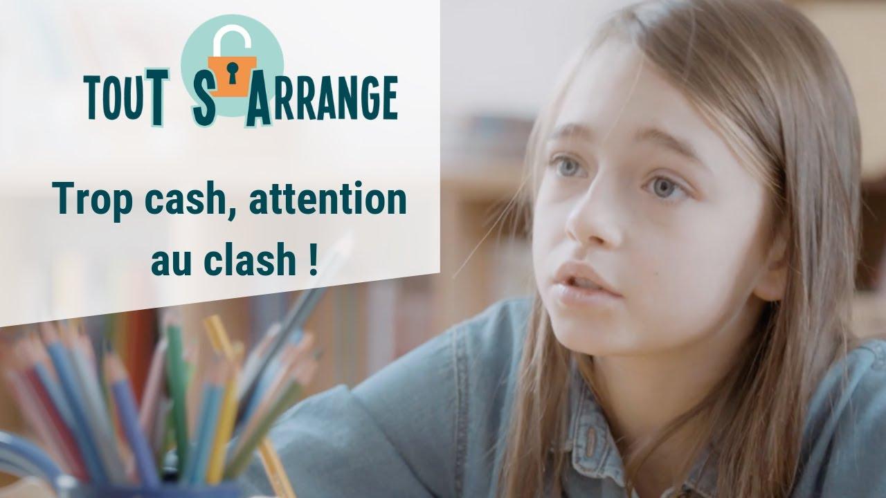 """TouT S'Arrange """"TROP CASH ATTENTION AU CLASH"""" - Autisme Web série qui donne des outils aux enfants"""