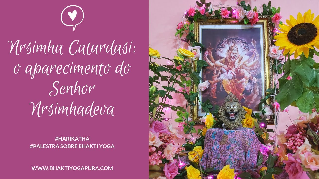 Download Bhakti Yoga: Nrsimha Caturdasi - O Aparecimento Transcendental do Senhor Nrsimhadeva