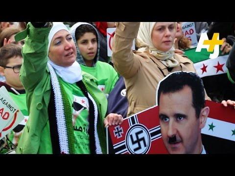 Syrian Americans March On The White House