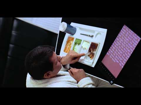 iPad concept in movie 2001 (HD Close-Up Shot)