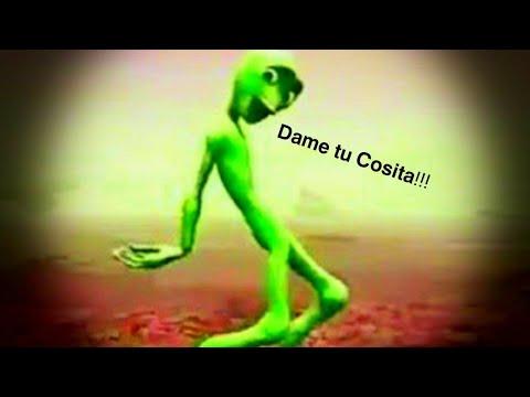 Alien tanzt