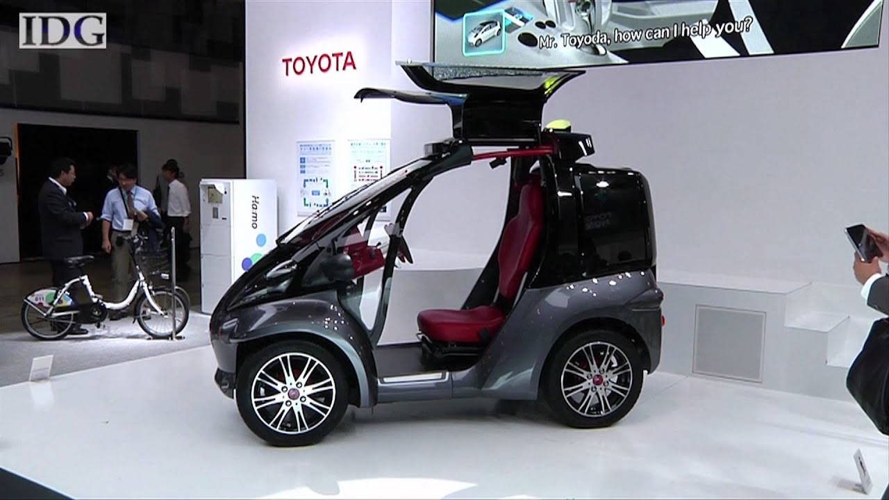 Toyota Smart INSECT Car - TechHive Update - YouTube