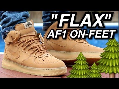 Nike 1 Wb Air Flax Feet Force Lv8 On nPO8k0wX