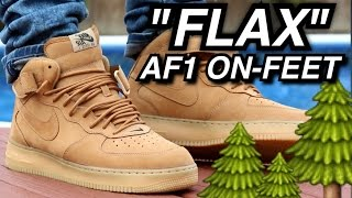 """Flax"" Air Force 1 W/ Onfeet Review"