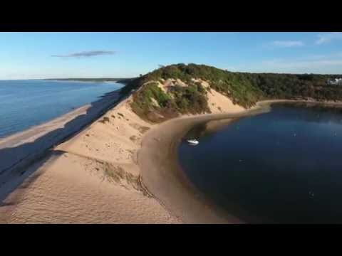 Pirates Cove, Port Jefferson, NY. Long Island. Yamaha SX230 HO jet boat, DJI Phantom 4