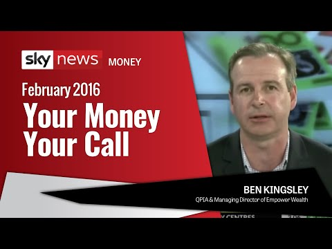 Ben Kingsley on Sky Business News – Your Money Your Call (February 2016)