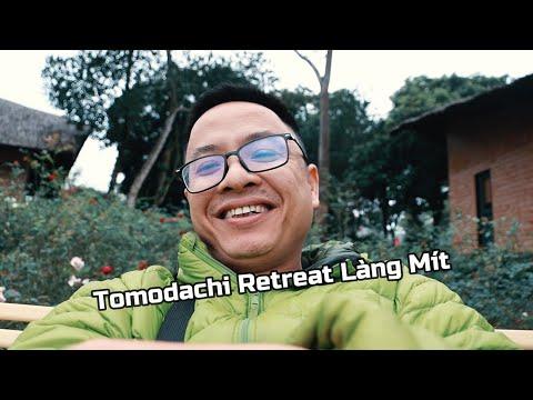 Tomodachi Retreat Làng Mít Hanoi | Jacky Nguyen Vlog