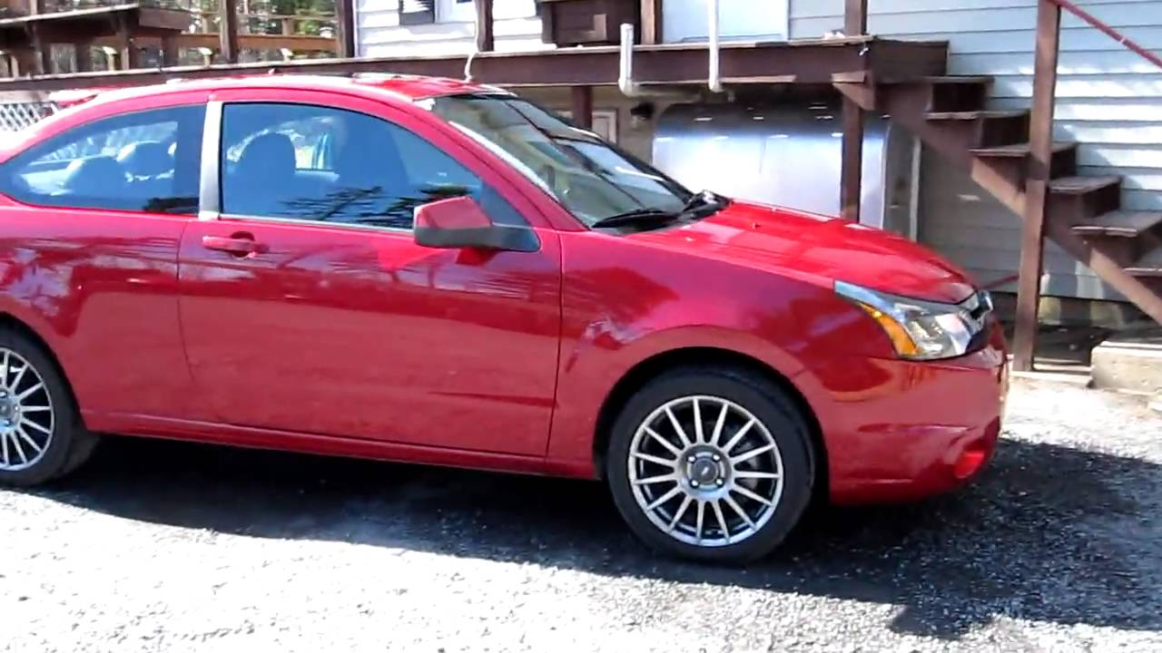 2009 Ford Focus Ses 2 door 2 litre Walkround Exterior and Interior - YouTube & 2009 Ford Focus Ses 2 door 2 litre Walkround Exterior and Interior ...