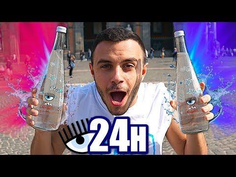 BEVO PER 24 ORE SOLO ACQUA CHIARA FERRAGNI!!!