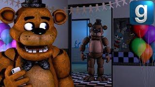 Gmod FNAF | Freddy Plays FNAF AR!
