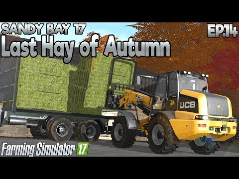 Sandy Bay 17 - Farming Simulator 17 -  Ep.14 (with Wheel Cam & Seasons mod)