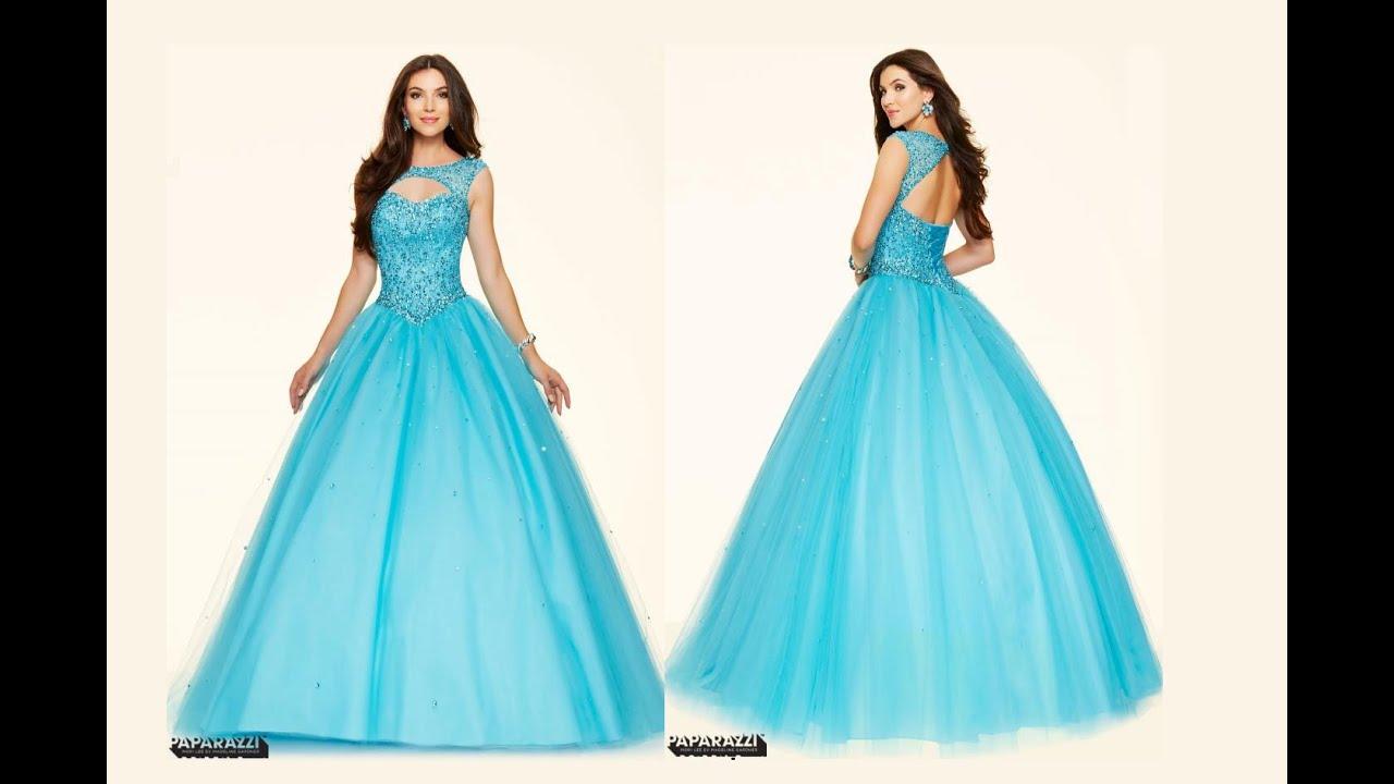 Ballgown Dress by Mori Lee 98033 - YouTube