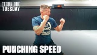 3 Tips To Improve Your PUNCHING SPEED   Stephen Wonderboy Thompson