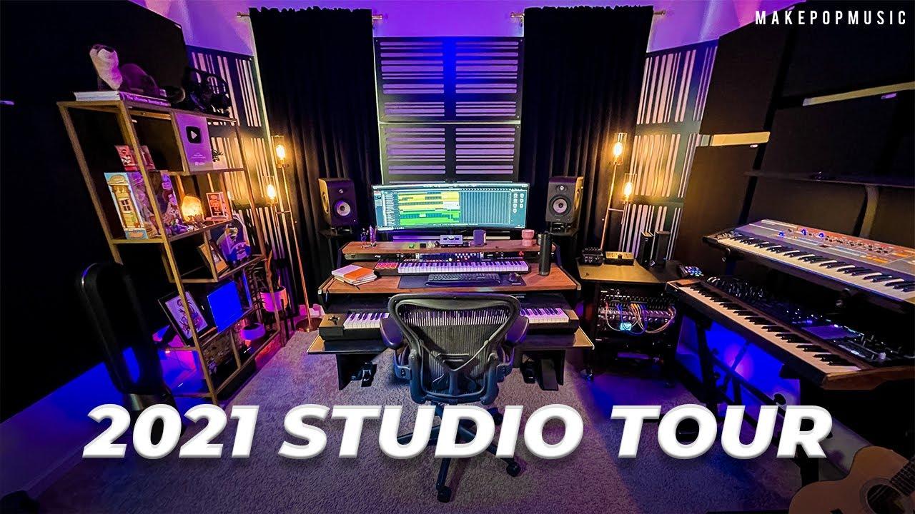 2021 Studio Tour & Gear Update | Make Pop Music