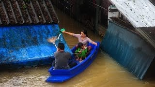 Southern Thailand Struck by Major Flooding