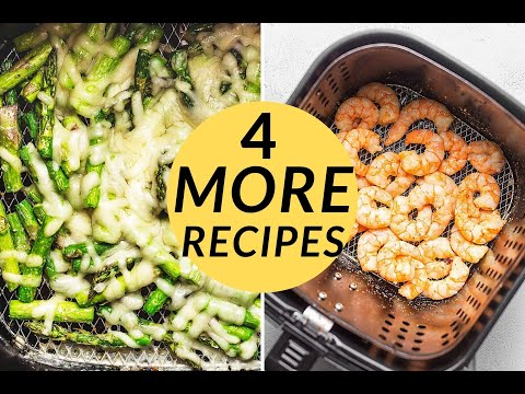 4 MORE Air Fryer Recipes for Beginners!