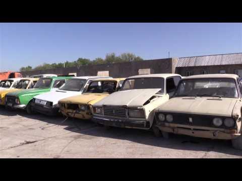 Шымкент на первом месте по утилизации старых авто