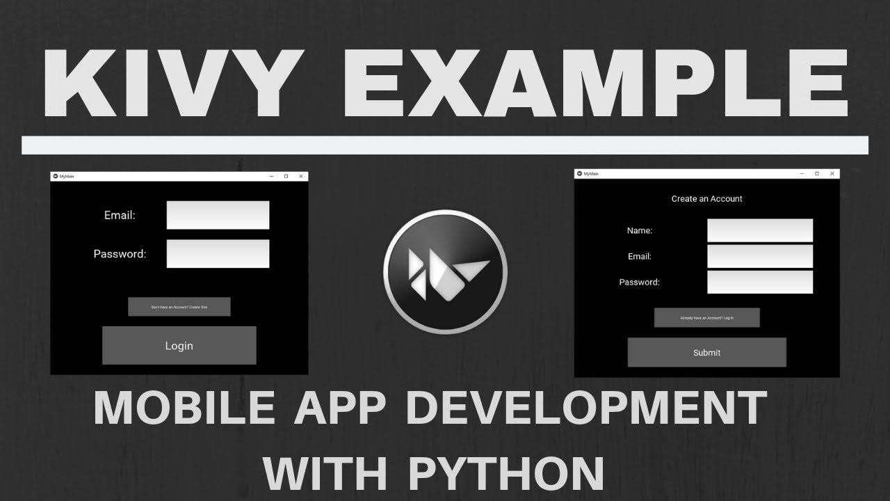 Python Kivy Example GUI Tutorial - techwithtim net