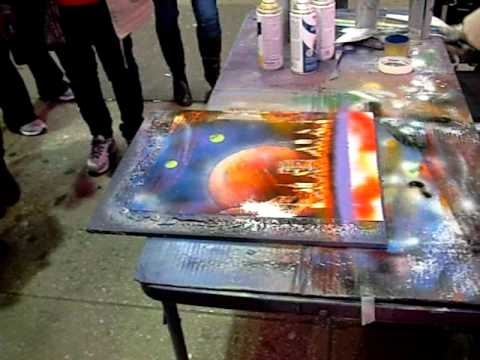 Amazing San Francisco Spray Paint Artist Doovi