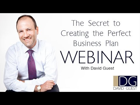 Webinar: How to Create a Business Plan Set for Success