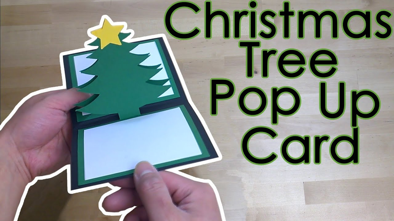pop up christmas cards templates free
