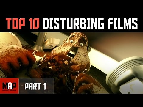 Top 10 CREEPY & DISTURBING CGI Animated Films on Youtube (Pa