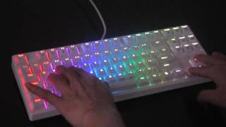 royal kludge rg 987 rgb mechanical gaming keyboard white body red kailh switches