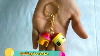 Quilling House Keychain | Balaji's Kitchen