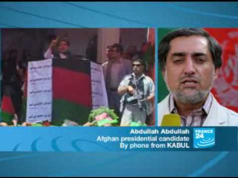 Afghan election results are meaningless, Abdullah Abdullah - F24 090909
