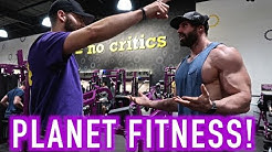 BRADLEY MARTYN GOT KICKED OUT OF PLANET FITNESS