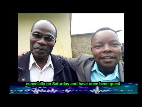 Pastor meets his favorite radio teacher