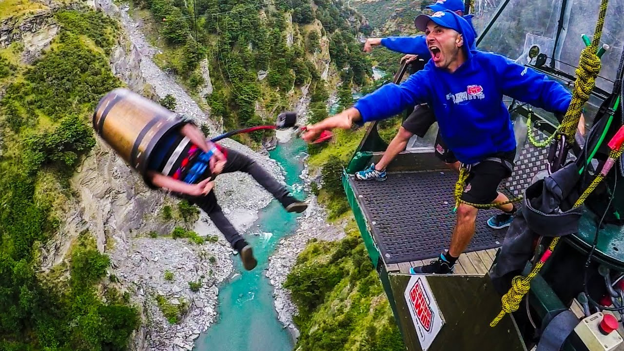 New Zealand South Island Bunge Jump