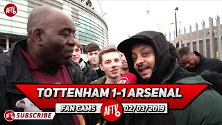 Tottenham 1-1 Arsenal | Mustafi Let Us Down AGAIN! (Troopz)