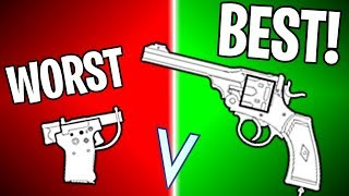 RANKING EVERY PISTOL IN BF5 FROM WORST TO BEST! | Battlefield 5