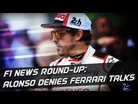 F1 News Round-Up: Alonso Denies Talking To Ferrari About Return