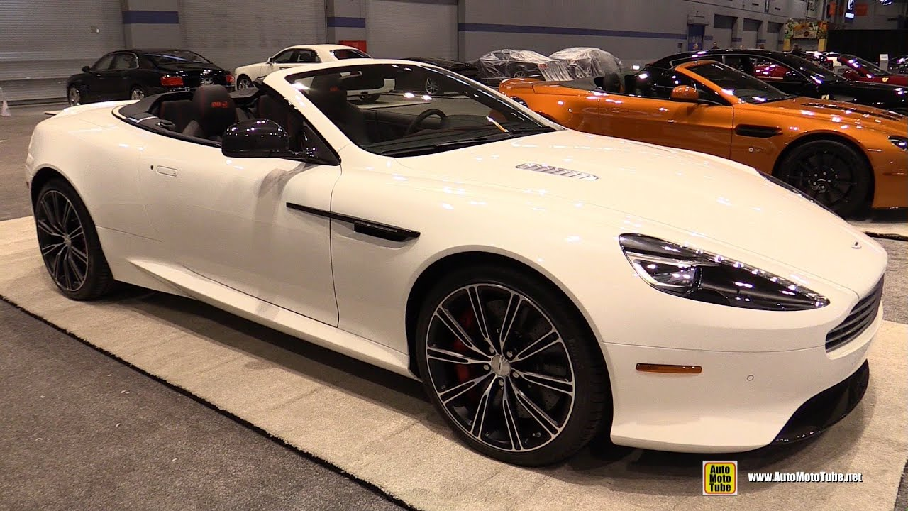 2015 aston martin db9 volante - exterior and interior walkaround