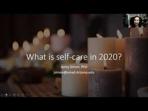 What is self-care in 2020?