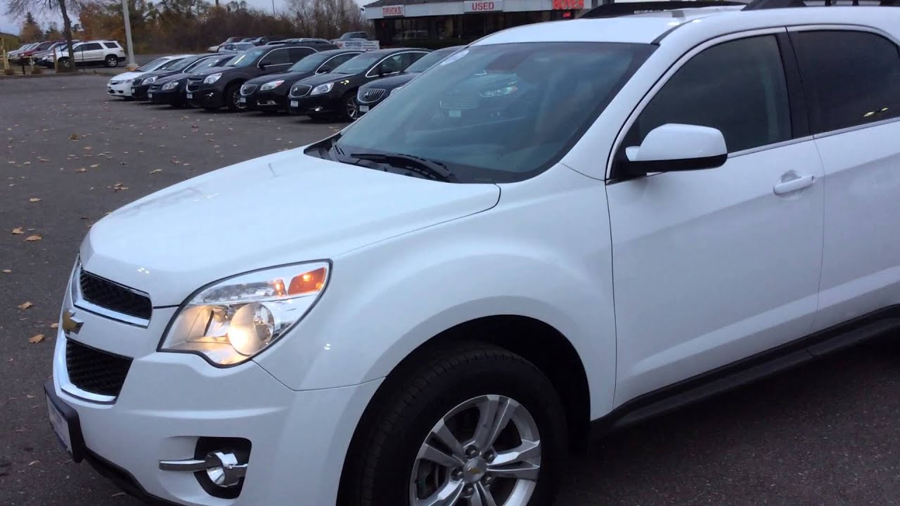 2012 Chevrolet Equinox AWD 2LT For Sale