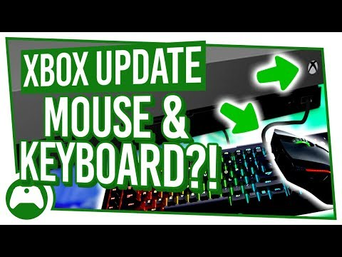 XBOX MOUSE And KEYBOARD Support UPDATE | Xbox Update 2018