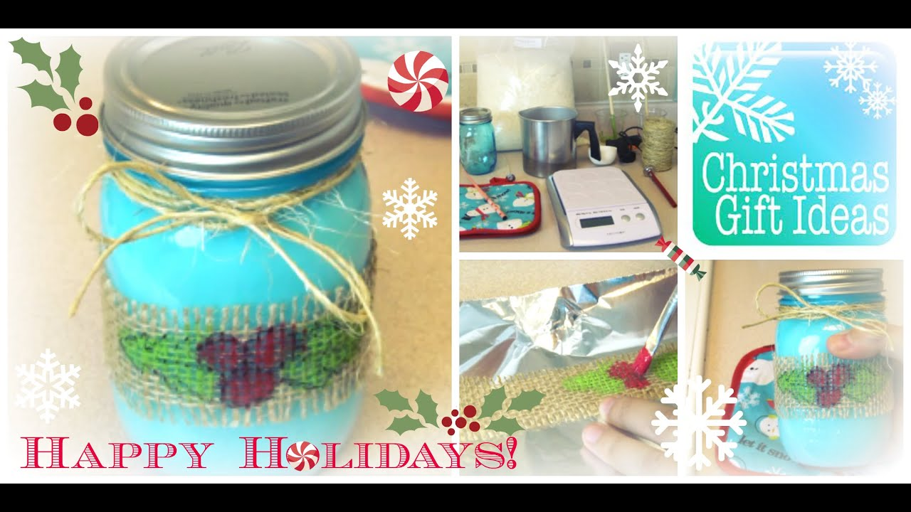 how to easy diy candle making for a christmas gift step by step