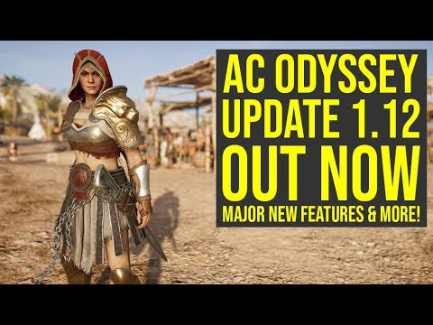 Assassin's Creed Odyssey Update 1.12 ALL INFO - Adds Major New Features & Way More (AC Odyssey 1.12) thumbnail