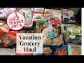 TRADER JOES HAUL | WHAT WE ATE ON VACATION | TRADER JOE FAVORITES