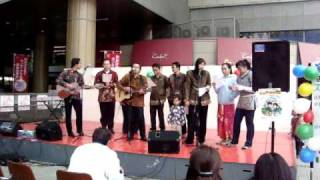 Kemesraan by Indonesian Stucents Group in Kumamoto City, Japan (March 14,2009)