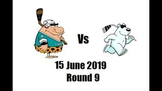 2nd Period - Cavemen Vs Bears 15/6/2019 NIHL Ice Hockey