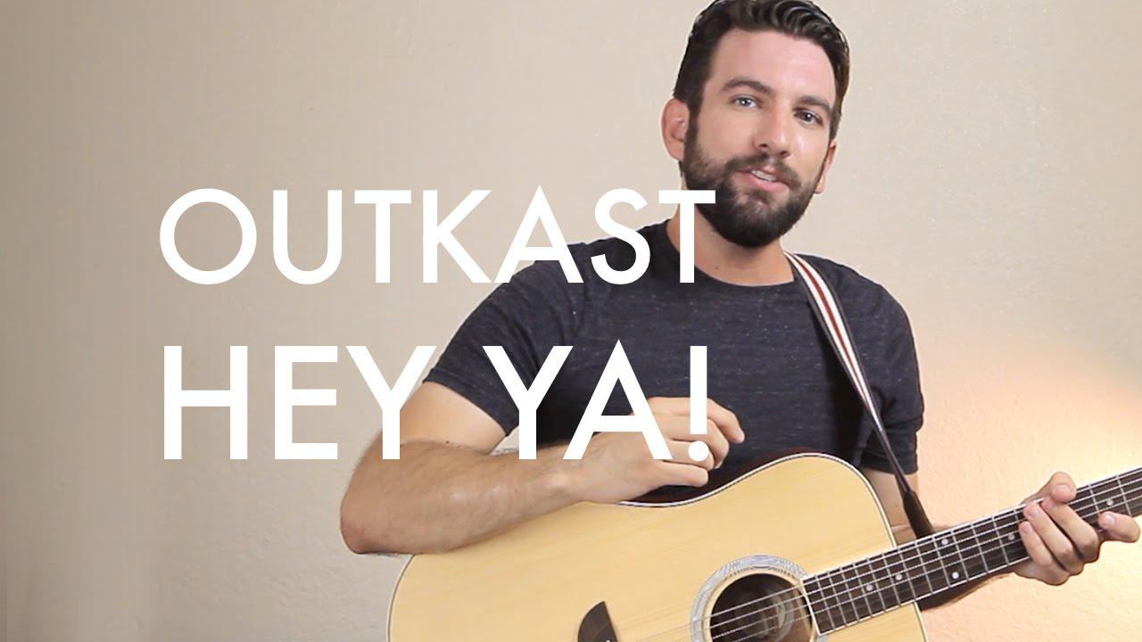 Outkast Hey Ya Guitar Lessontutorial Youtube