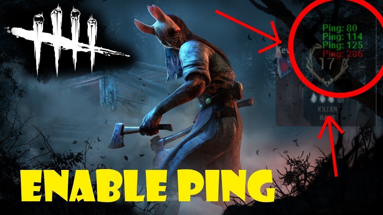 Dead by Daylight - How to enable/view Ping in DBD (MLGA)