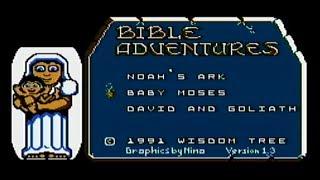 Bible Adventures - NES Gameplay