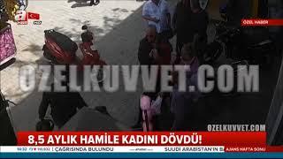 Türk askeri hamile kadına vurana dersini veriyor