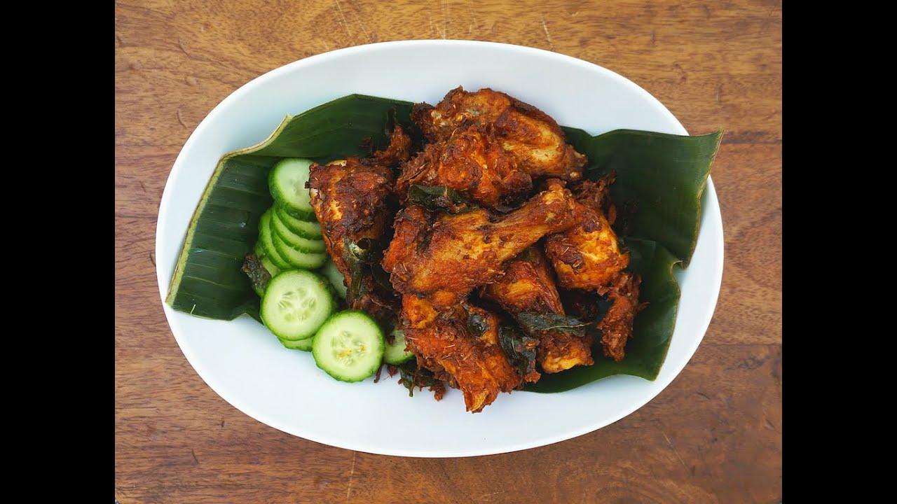 Ayam Goreng Berempah (Aromatic Fried Chicken) - YouTube